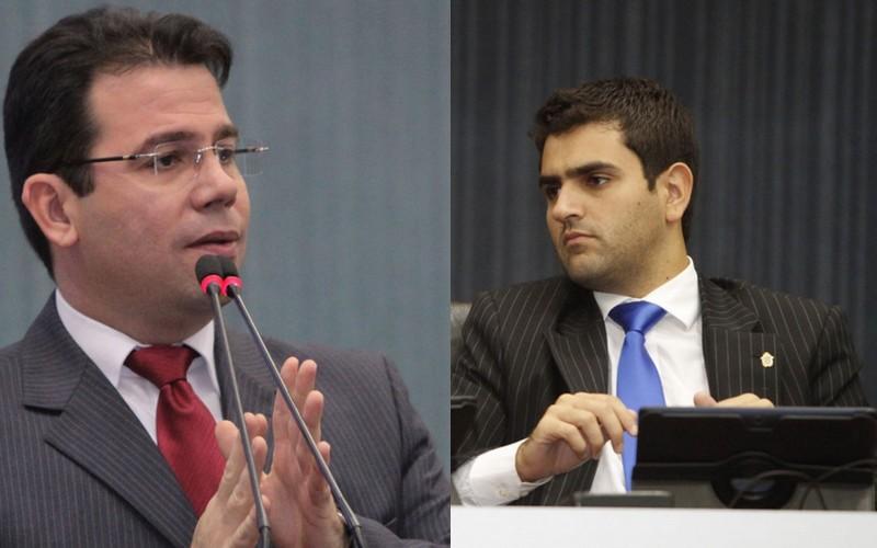 Wilker Barreto e Hiram Nicolau são os candidatos de Arthur Neto para presidente e vice-presidente da CMM, respectivamente (Fotos: Tiago Corrêa/CMM)