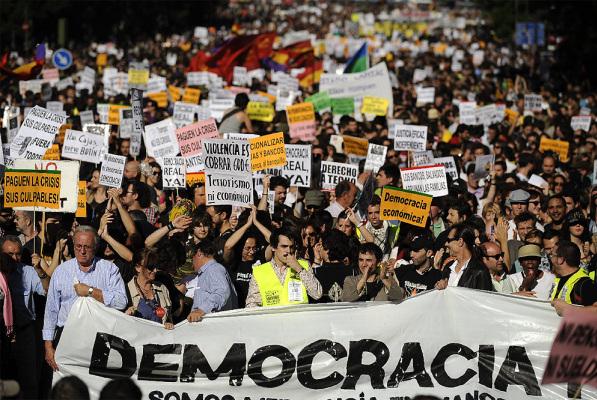 democracia manifestacao