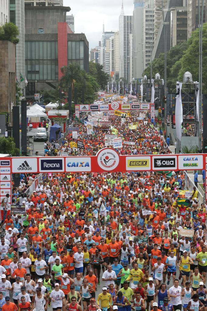 O corredor foi o melhor brasileiro nas últimas duas edições da tradicional prova realizada em São Paulo (Foto: Paulo Pinto/Divulgação)