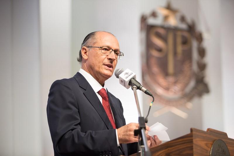 O governador Geraldo Alckmin (Foto: Bruno Santos/Divulgação)