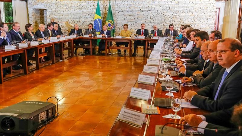 A primeira reunião ministerial do segundo mandato da presidente Dilma Rousseff foi marcado pelo caráter sigiloso do encontro (Foto: Roberto Stuckert Filho/PR)