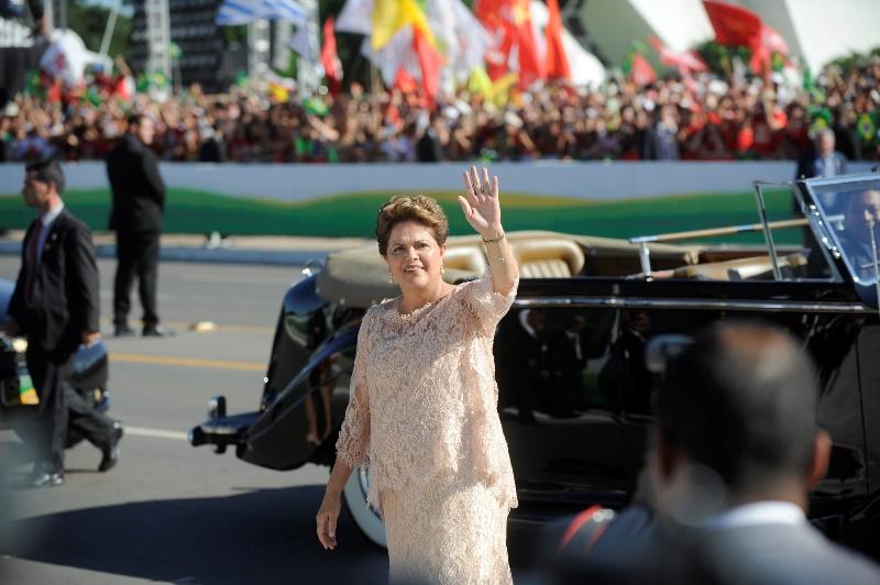 Dilma posse 2 by Jefferson Rudy as