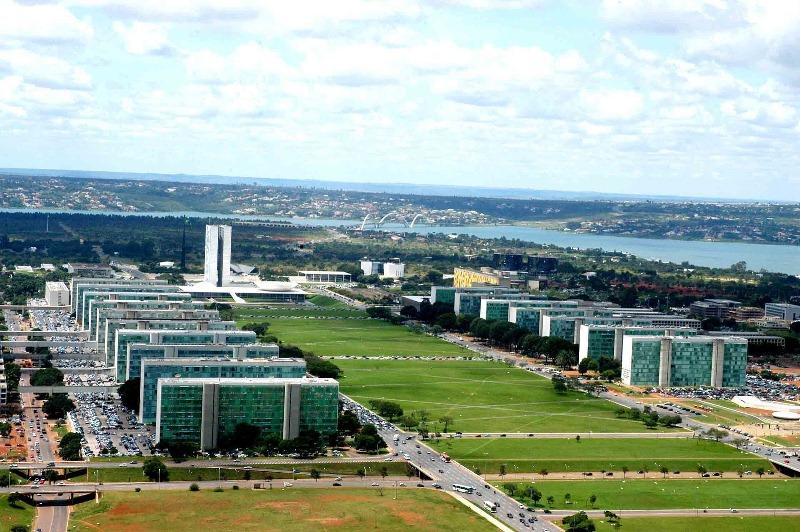 Um dos prédios da Esplanada dos Ministérios será reformado pelo governo federal (Foto: Divulgação)
