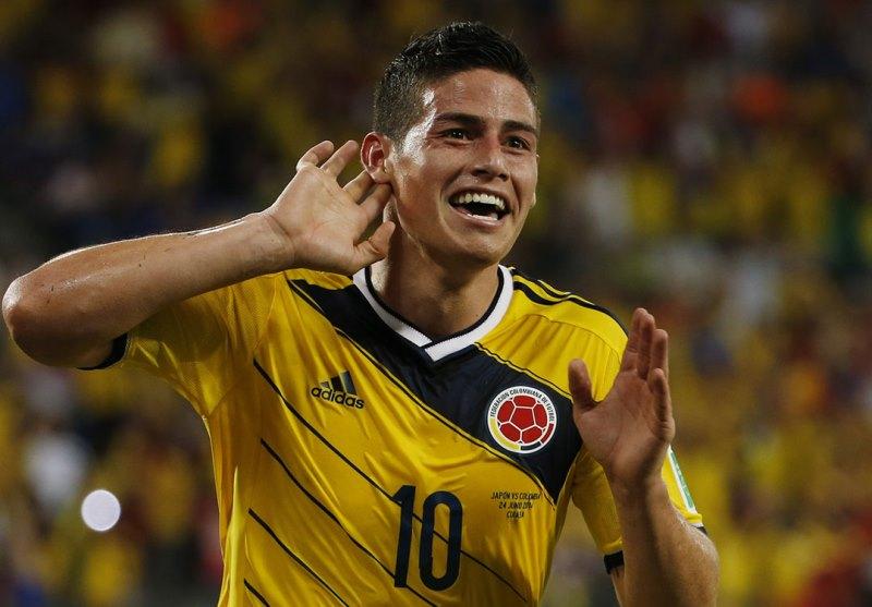 Jogador da Colômbia foi destaque da Copa do Mundo no Brasil e agora é agraciado com o prêmio da Fifa (Foto: Archivo Latino y FCF)