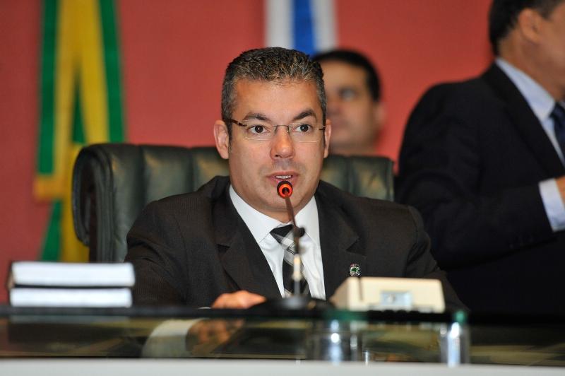 O presidente da Assembleia Legislativa do Amazonas, Josué Neto, contratou, no ano passado, três empresas de publicidade e propaganda (Foto: Elisa Garcia Maia/ALE)