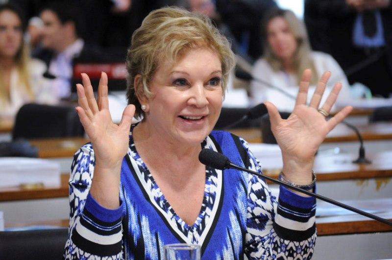 A ex-ministra da Cultura Marta Suplicy afirmou em entrevista ao jornal O Estado de S.Paulo que houve desmandos na gestão de seu antecessor (Foto: Geraldo Magela/Agência Senado)