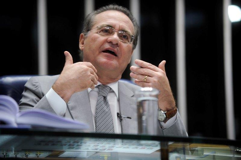 O presidente do Senado cobra mais espaço no segundo escalão do governo para compensar as perdas no primeiro escalão (Foto: Moreira Mariz/Agência Senado)