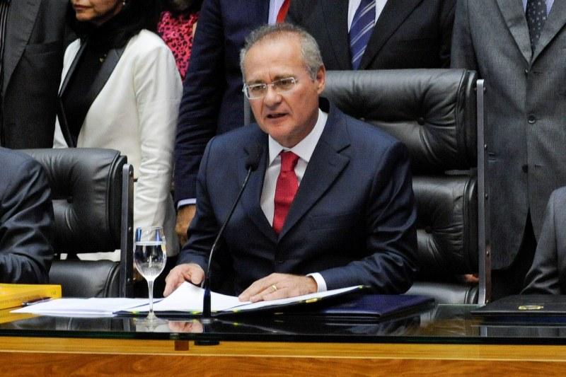 O presidente do Senado, Renan Calheiros queria tinha como certa a reeleição dele para presidente da Casa, mas pode ter os planos frustrados (Foto: Jonas Pereira/Agência Senado)
