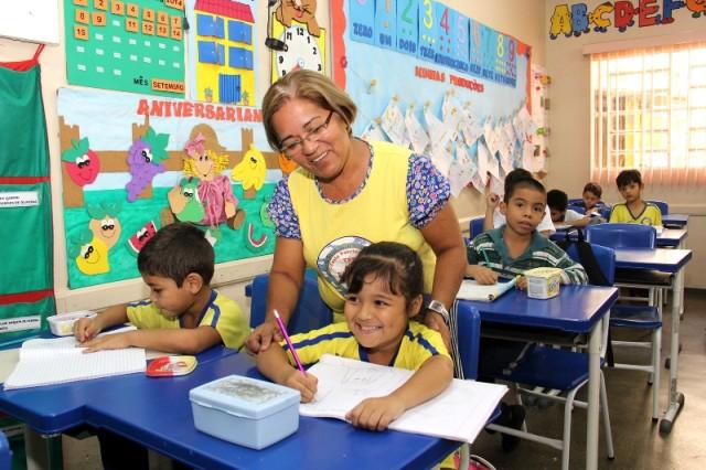 Nesta segunda-feira, 19, começam as matrículas para a educação infantil em escolas municipais (Foto: Eduardo Cavalcante/Seduc)