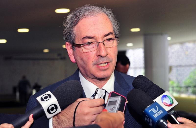 O presidente da Câmara dos Deputados, Eduardo Cunha, foi procurado pelo líder do governo na Casa, deputado