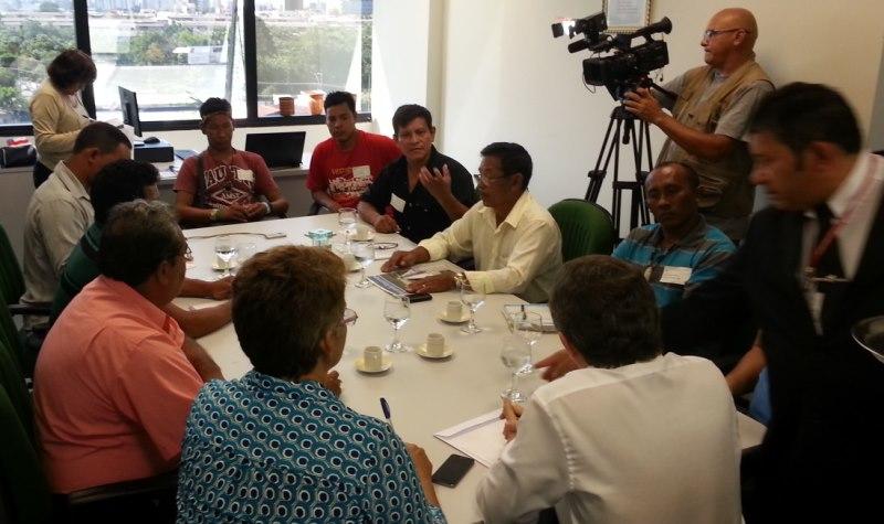 Os indígenas criaram um movimento de oposição à atual administração da Seind e querem evitar a extinção da secretaria (Foto: Divulgação)