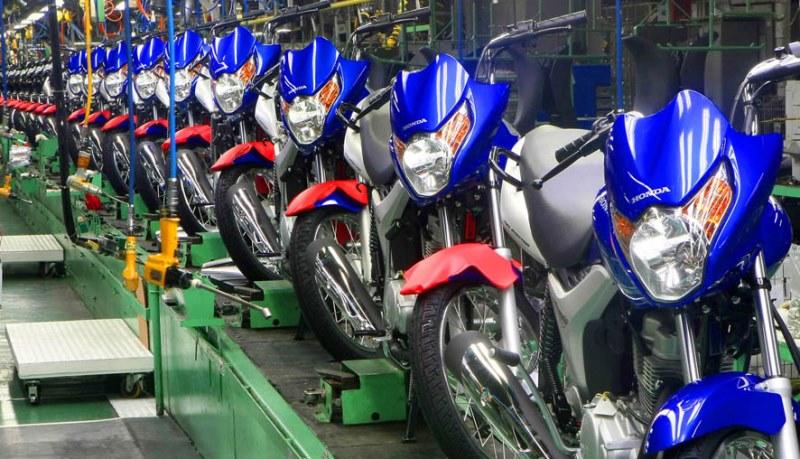A queda na produção e venda de motocicletas afetou diretamente o polo de duas rodas de Manaus, que demitiu funcionários e deu férias coletivas no final do ano passado (Foto: Divulgação)