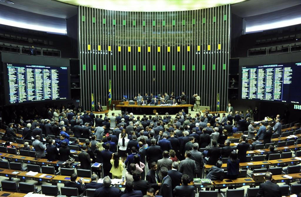Na Câmara dos Deputados, a agitação dos dias de sessão deu lugar à calmaria nesta quinta-feira, 12 (Foto: Zeca Ribeiro/Câmara dos Deputados)