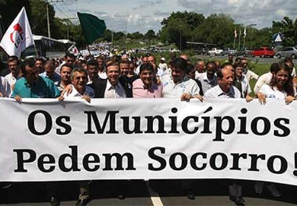 Marcha dos Prefeitos, evento que ocorre anualmente em Brasília,