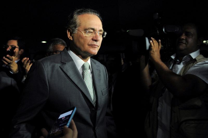 Renan Calheiros está na lista de 54 políticos entregue pelo procurador-geral da República, Rodrigo Janot ao STF (Foto: Jane de Araújo/Agência Senado)