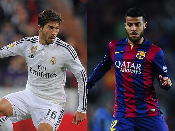 f91f93c33e26c Rafinha e Lucas Silva foram rivais no clássico entre Barcelona e Real  Madrid e agora estão