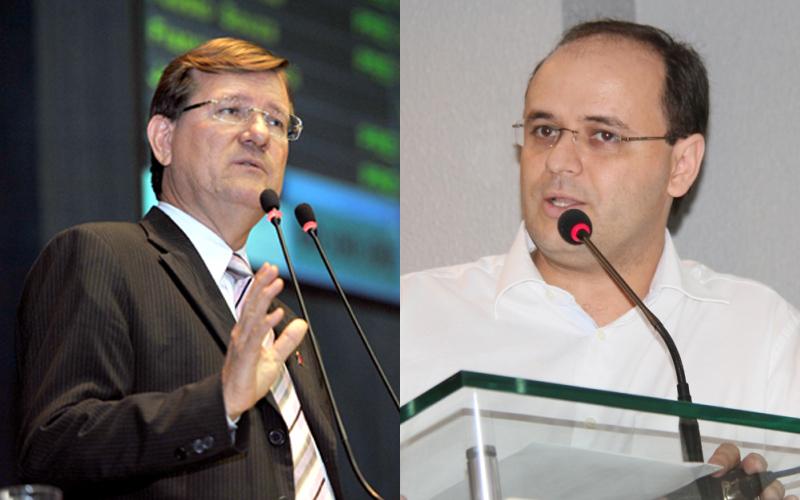 José Ricardo apresentou números levantados pela assessoria parlamentar e o secretário Rossieli Soares rebate as informações com outros dados (Fotos: Divulgação)
