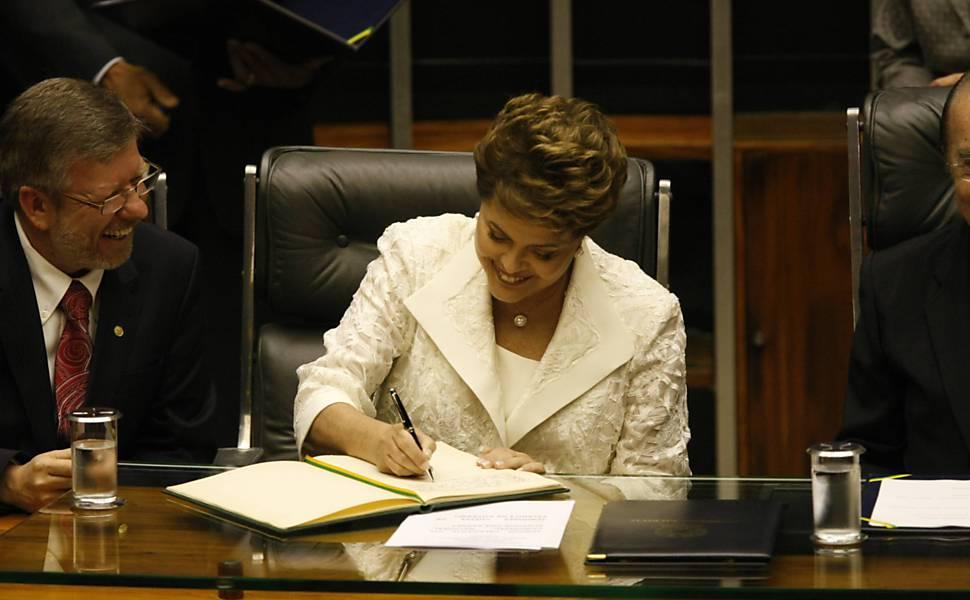 A decisão da presidente ocorre dias depois da pressão feita em Brasília por lideranças indígenas.  Divulgação/Internet