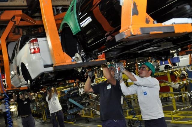 Complexo Industrial da GM em São Caetano do Sul/SP