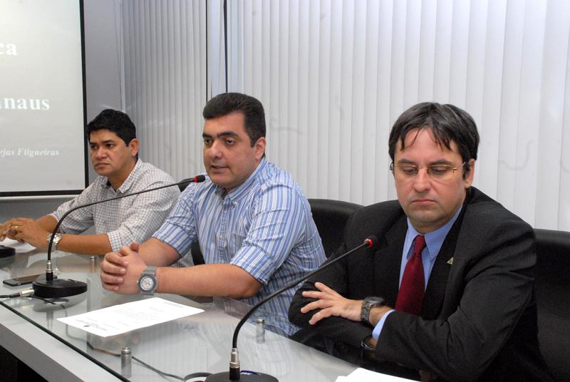 Manaus, 11/05/2015 - Reunião da Comissão de Indústria, comércio Exterior e Mercosul. (Foto: Danilo Mello/Aleam)