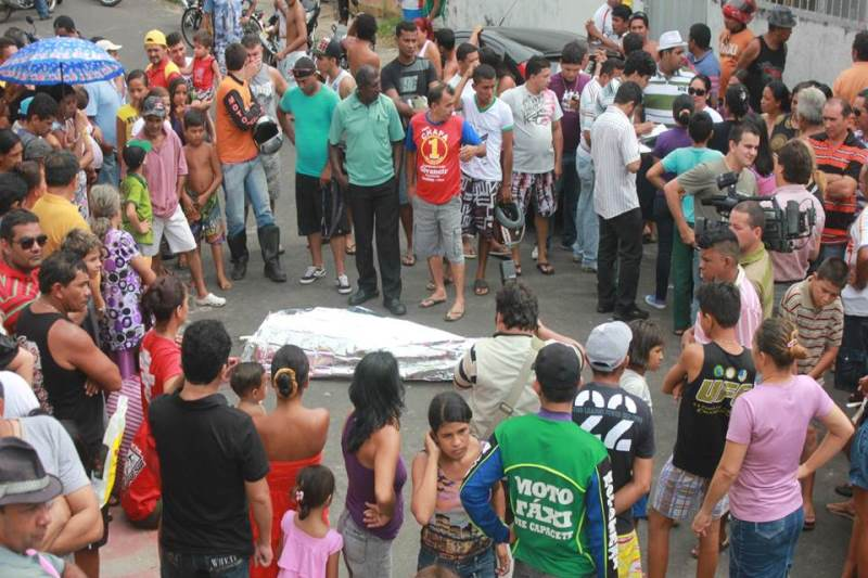 Mortes violentas por arma de fogo atinge, principalmente, negros e jovens no Amazonas (Foto: Divulgação/Sinpol)