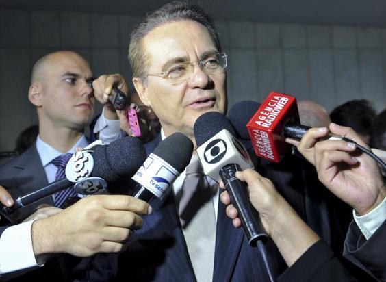 Renan Calheiros - Jane de Araújo - Ag Senado