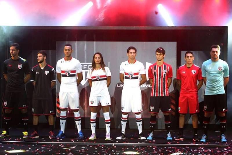 Sao Paulo camisas