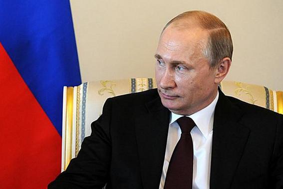 Vladimir Putin - Foto - The Presidential Press and Information Office