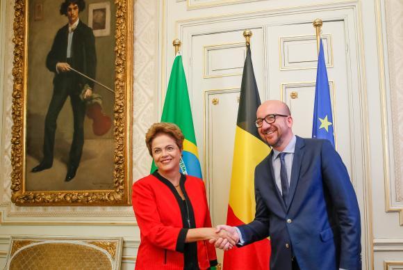 Dilma na Belgica