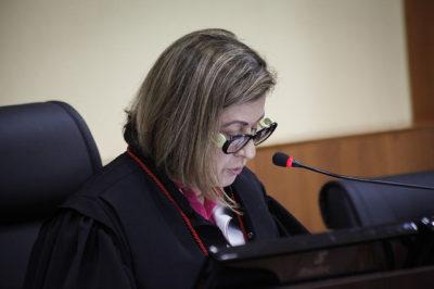 A presidente do TJAM, Graça Figueiredo, enviou emenda ao projeto nesta segunda-feira (Foto: Raphael Alves/TJAM)