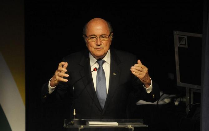 Joseph Blatter Tania Rego- ABR