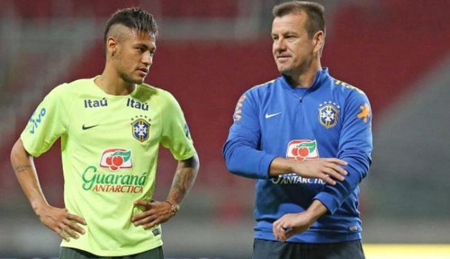Neymar e Dunga