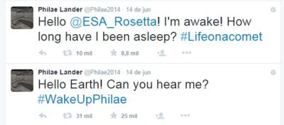Philae Lander   Philae2014    Twitter