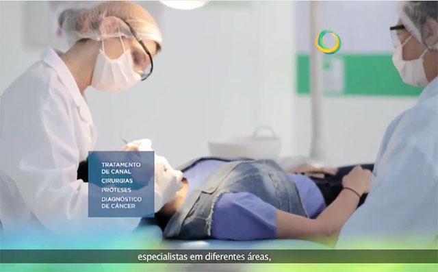 Publicidade institucional da Prefeitura de Manaus divulgada nas últimas semanas na televisão (Foto: Reprodução)