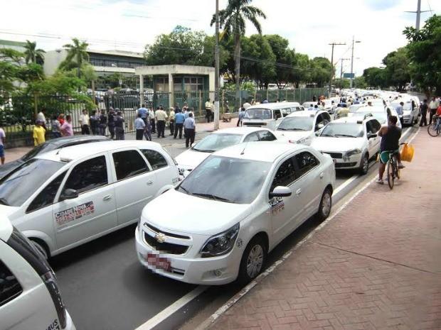 Taxis manaus divulgação prefeitura