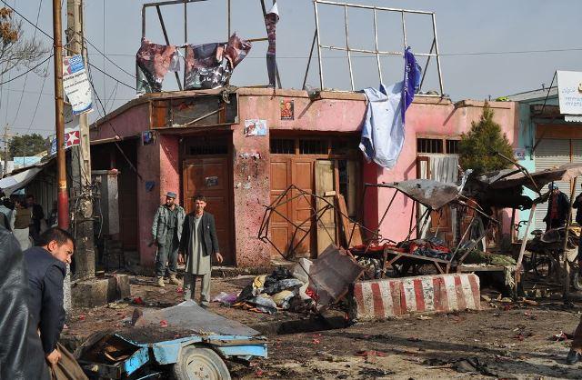 Ataque Taliban Afeganistao Faryb Foto EPA
