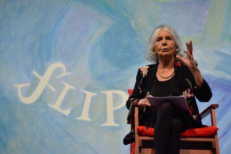 Beatriz Sarlo em Paraty Foto Tânia Rêgo Agência Brasil