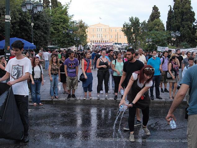 Crise Grécia Foto linmtheu creative commons
