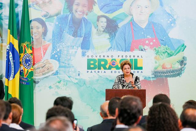 A presidente Dilma Rousseff tá em seu pior momento desde que assumiu o governo em 2011 (Foto: Roberto Stuckert Filho/PR)