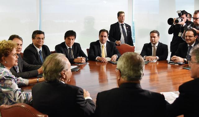 Dilma Rousseff teve encontro com governadores do nordeste no início deste mês (Foto: Humberto Pradera)