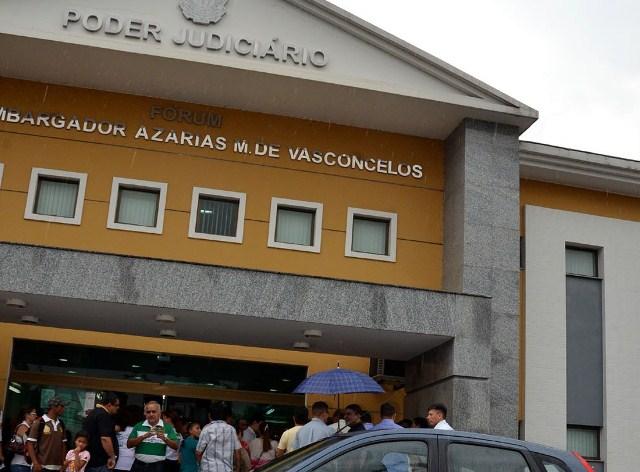 Fórum da Zona Leste: 9ª Vara acumula processos em função de disputa interna (Foto: Divulgação?TJAM)