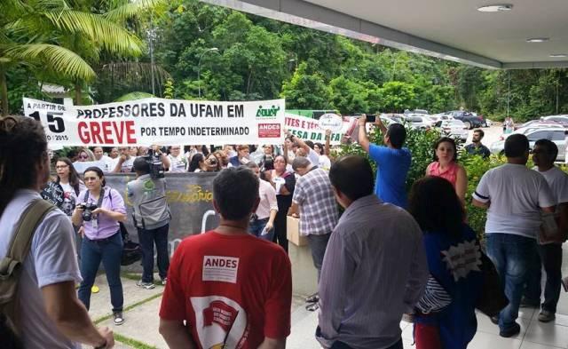 Greve na Universidade Federal do Amazonas foi iniciada no dia 15 de maio