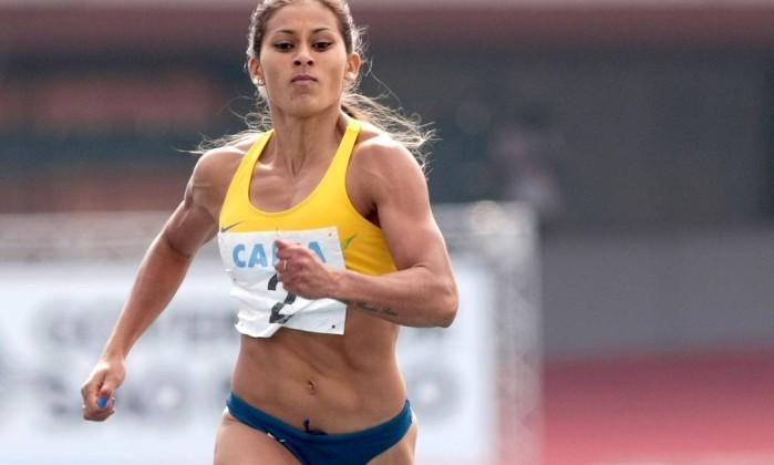 Mulher mais veloz da América do Sul Ana Cláudia Lemos Silva - Marcelo Ferrelli Divulgação CBAt