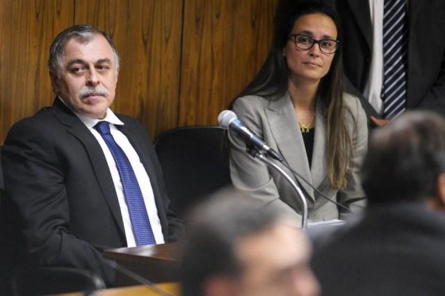 Paulo Roberto Costa - CPMI E advogada Beatriz Catta Preta Foto Edilson Rodrigues Agência Senado