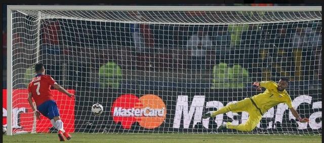 Penalti Chile Argentina