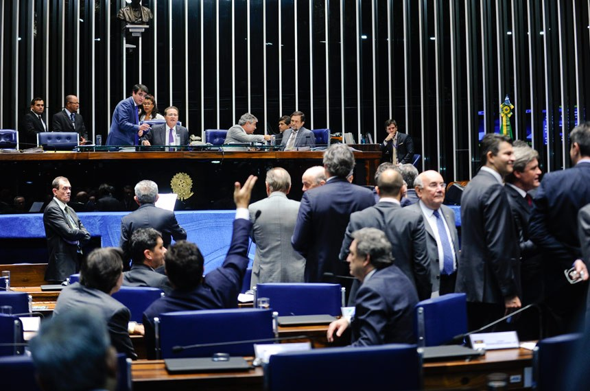 Os senadores votaram na noite desta quarta-feira, 1°, a proposta que