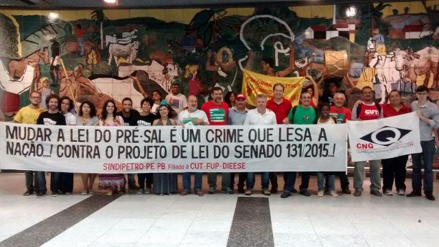 Trabalhadores FUP Pre-sal Foto Divulgação