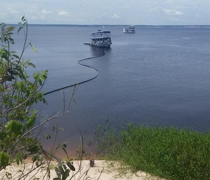 exercito_instala_cabos-internet_amazonia Divulgação Amazônia Conectada Exército Brasileiro