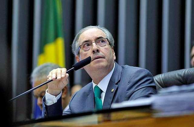 Eduardo Cunha participou na manhã desta sexta-feira de