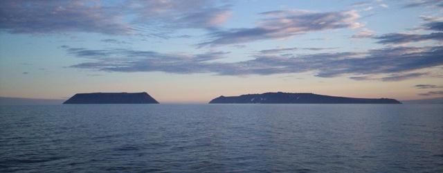 Fronteira EUA Russia Artico Diomede_Islands Foto Dave Cohoe